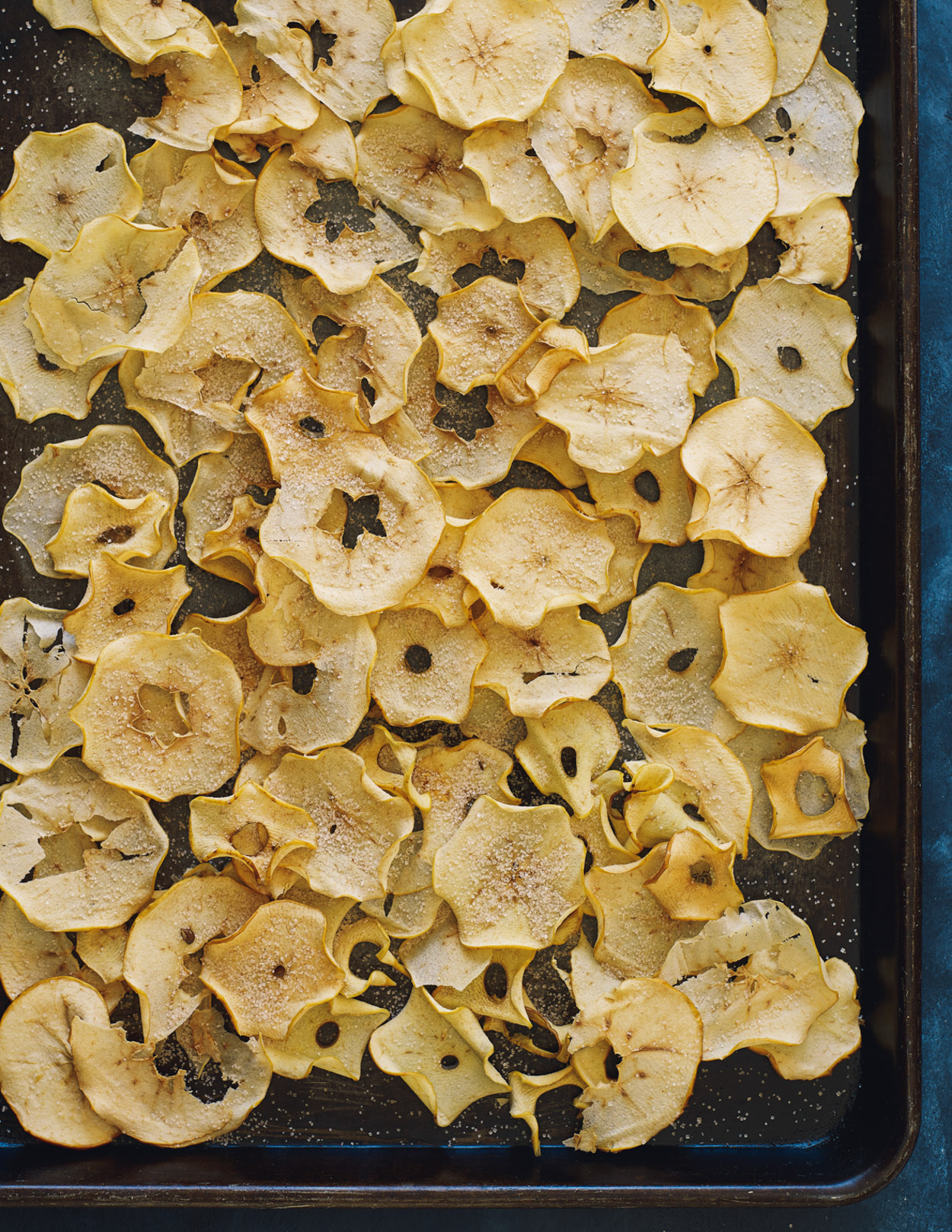 Los Angeles Food photographer - Cooking in Season Cookbook Apple Crisps  by Ray Kachatorian