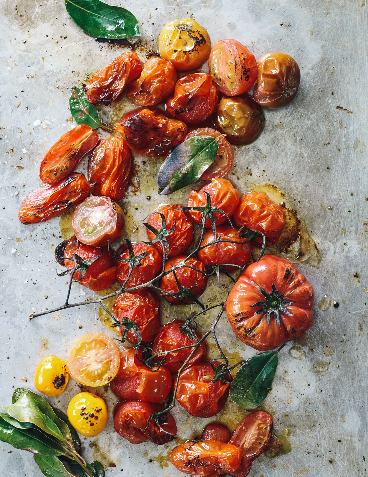 Los Angeles Food photographer - Cooking in Season  Cookbook tomatoes  by Ray Kachatorian