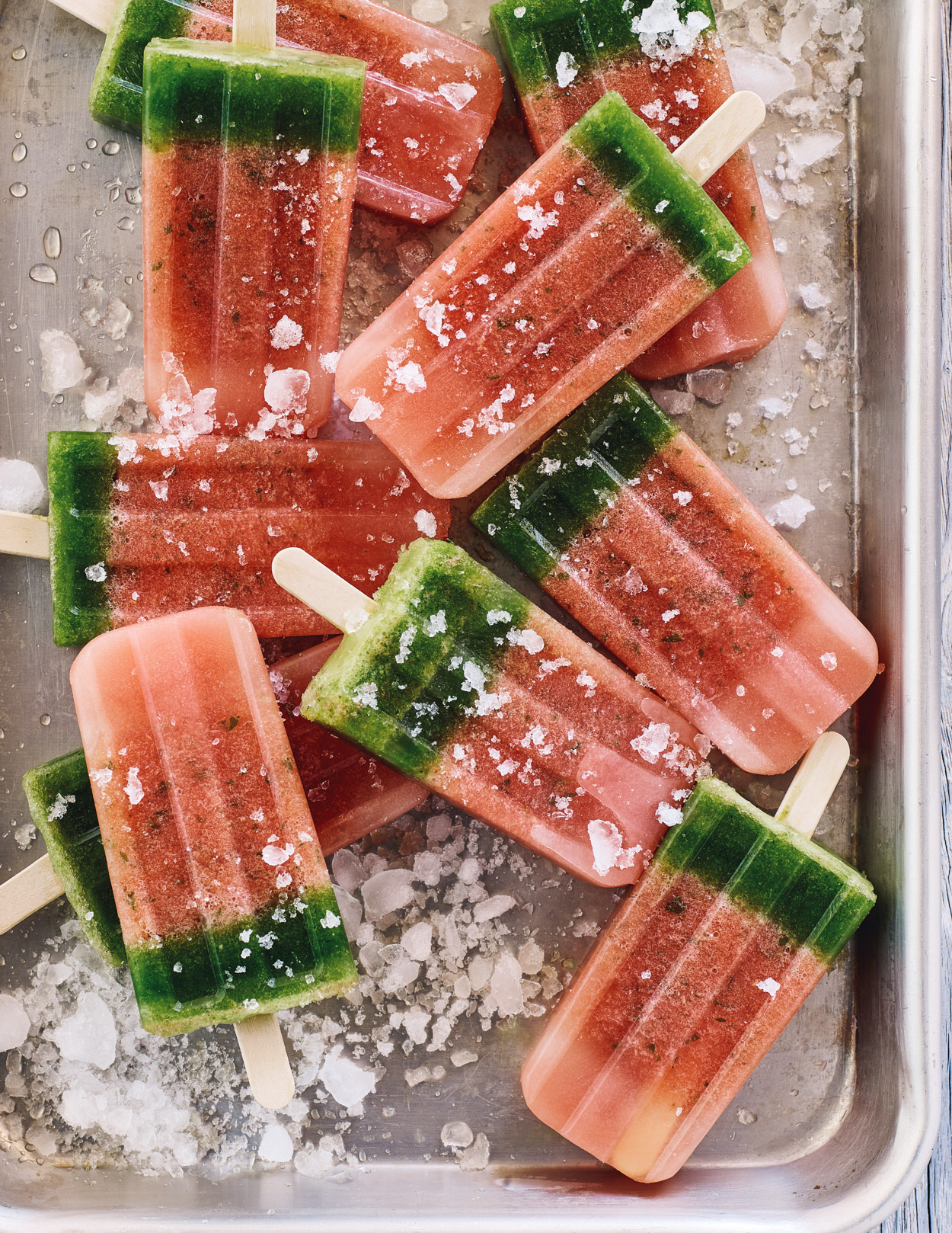 Los Angeles Food photographer - Cooking in Season Cookbook Watermelon popsicle by Ray Kachatorian