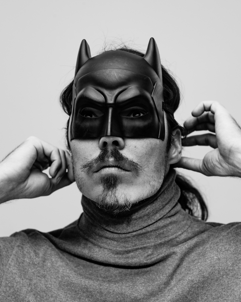 Los Angeles Portrait Photographer -  Dane batman  in studio by Ray Kachatorian