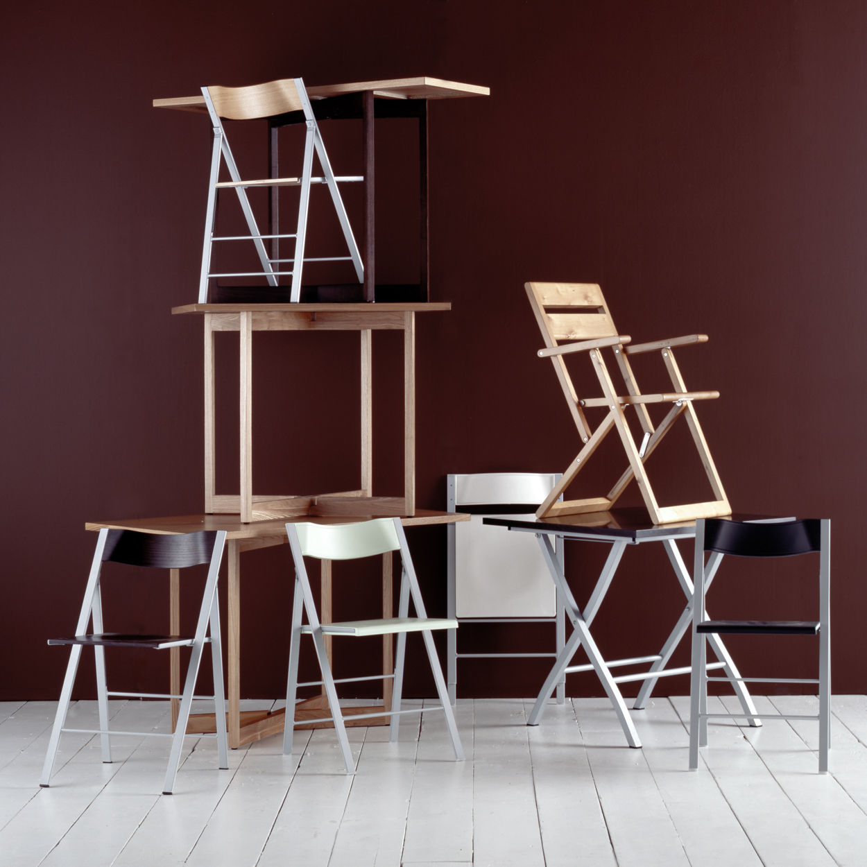 Los Angeles Still Life Photographer - Chair stack  by Ray Kachatorian